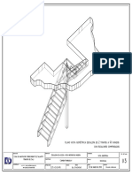 Escalera CARMEN-Vista Isométtrica