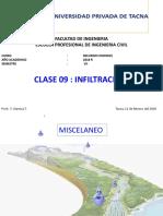 12022018 Clase 09 Infiltraciòn