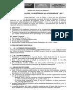 Bases Del Concurso - Primaria 2017