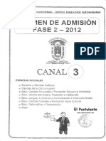 Unjbg 2012 Fase 2 Canal 3
