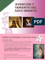Prevencion y Tratamiento Del Maltrato Infantil