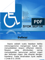 Syok Septik PPT