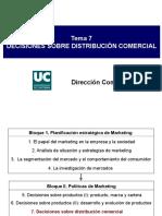 Decisiones Sobre Distribución Comercial SEMANA 11