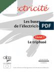 Électricité - Les bases de l'électricité - Le triphasé.pdf