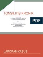 Case Tonsilitis Kronik
