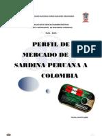 Perfil Anchoveta Peruana a Colombia