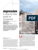 Adult Depression - A Step by Step Guide to Treatment