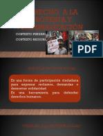Derecho a La Protesta y Criminalización