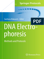 [Methods in Molecular Biology 1054] Gareth a. Roberts, David T. F. Dryden (Auth.), Svetlana Makovets (Eds.) - DNA Electrophoresis_ Methods and Protocols (2013, Humana Press)