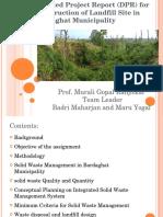 DPR Landfill Site Bardaghat
