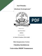 Sari Pustaka Moluscum Contangiusum