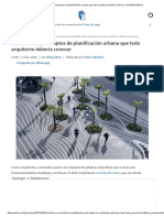 50 Términos y Conceptos de Planificación Urbana Que Todo Arquitecto Debería Conocer _ ArchDaily México