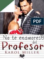 No Te Enamores Del Profesor