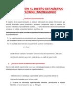 INTRODUCCIÓN AL DISEÑO ESTADÍSTICO DE EXPERIMENTOS RESUMEN.docx