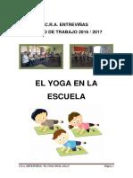 El Yoga en La Escuela