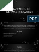 Implantación de Sistemas Contables II