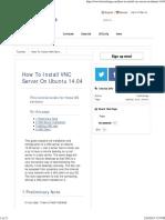 How to Install VNC Server on Ubuntu 14 2