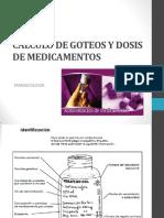 CÃ-LCULO+DE+GOTEOS+Y+DOSIS+DE+MEDICAMENTOS