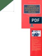 Cristián Ríos López - Omisión y Eliminación de Antecedentes Penales
