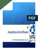 Arquitetura de Software - 1