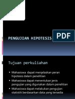 3. PENGUJIAN HIPOTESIS