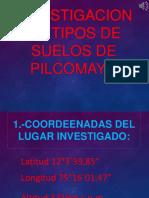 Investigacion de Tipos de Suelos de Pilcomayo