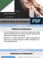 Metodologia Da Pesquisa Educacional - Fichamento