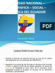 Realidad nacional ecuador presentación
