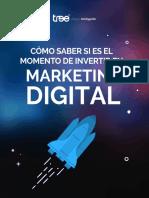 eBook Como Saber El Momento de Invertir en Marketing Digital