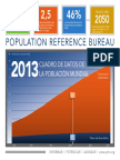 2013 Population Data Sheet Spanish