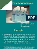 Farmacos Antisepticos y Desinfectantes