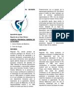 Caso Clínico y Su Revisión Bibliográfica Carolina Manzano