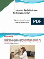 Protección Radiológica en Radiología Dental