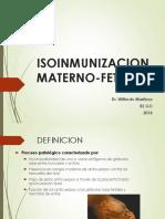 ISOINMUNIZACION+MATERNO-FETAL