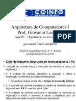 A2-Organização de Um Computador 2 m4kYJEI