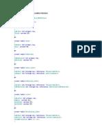 Ejercicio Base de datos SQL SERVER