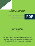 Definicion Argumentacion 16.5