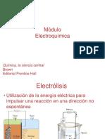 Electrólisis.