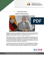 CV Ministro Carlos Perez