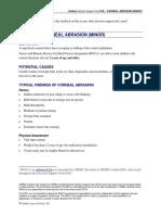 Pediatric Corneal Abrasion