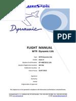 Dynamic WT9 Flight Manual