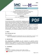 Guía Prgramàticca Comunicación