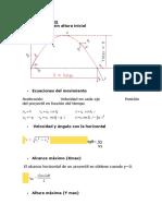 Fórmulas y Cálculos