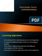 Carcinigenesis Solo