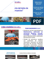 Brochur PSARI S.a.C. Soldadura