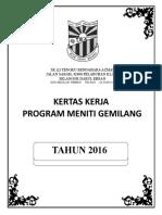 Kertas Kerja Program Meniti Gemilang 2016