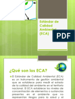 Estándar de Calidad Ambiental (ECA)