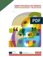 CCOO UE IAM Guia Sobre Violencia de Genero Para Delegados y Delegadas