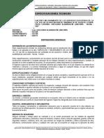 Especificaciones Infraestructura Cont Observa