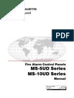 Firelite MS 5UD User Manual